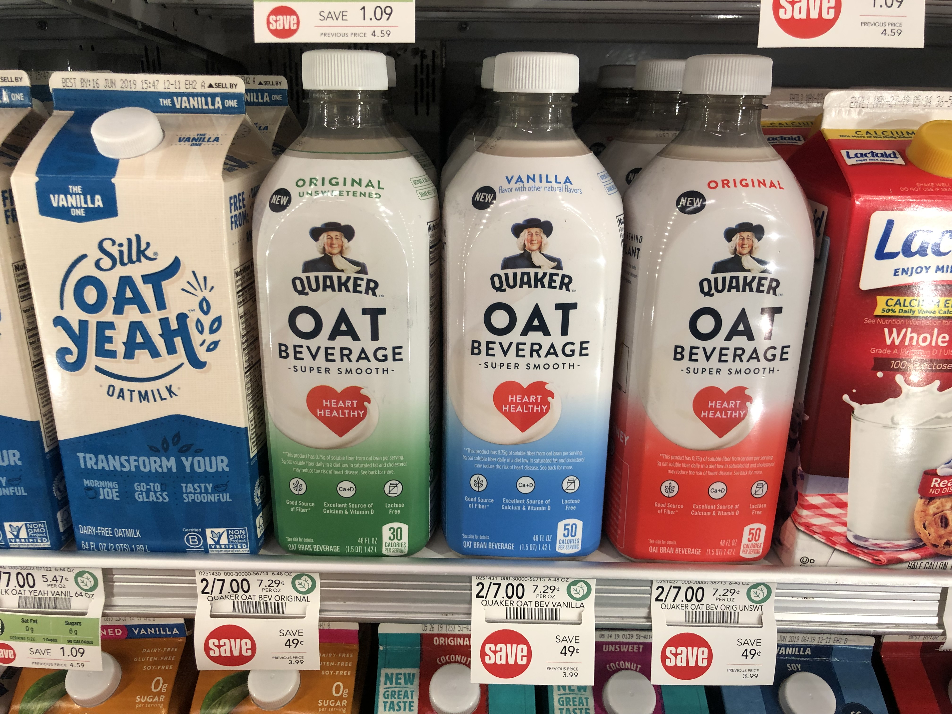 Quaker Oat Beverage Only $1.50 At Publix 1
