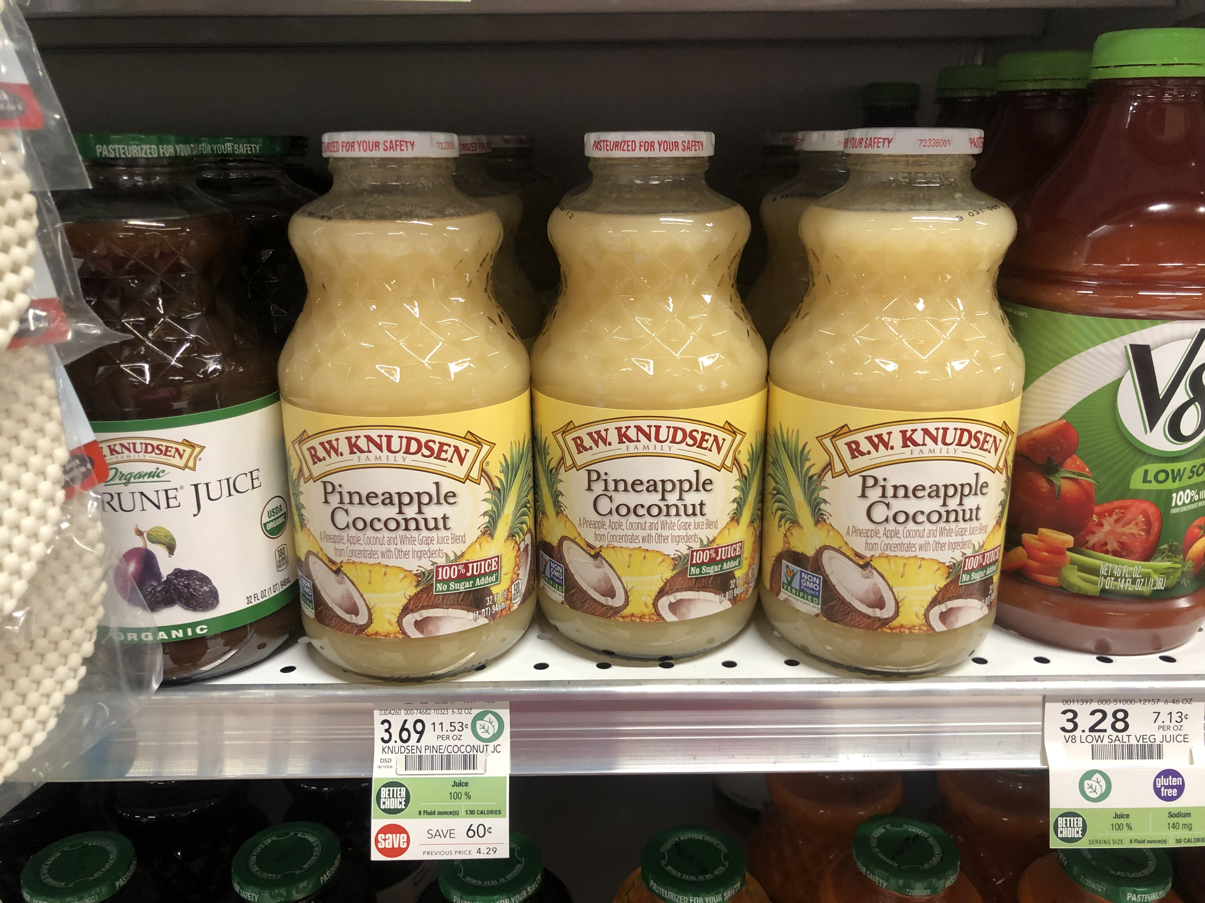R.W. Knudsen Juice Only $2.69 At Publix 1
