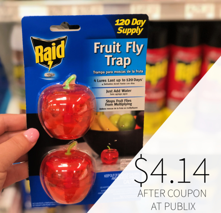 Raid Fruit Fly Trap Only $4.14 At Publix