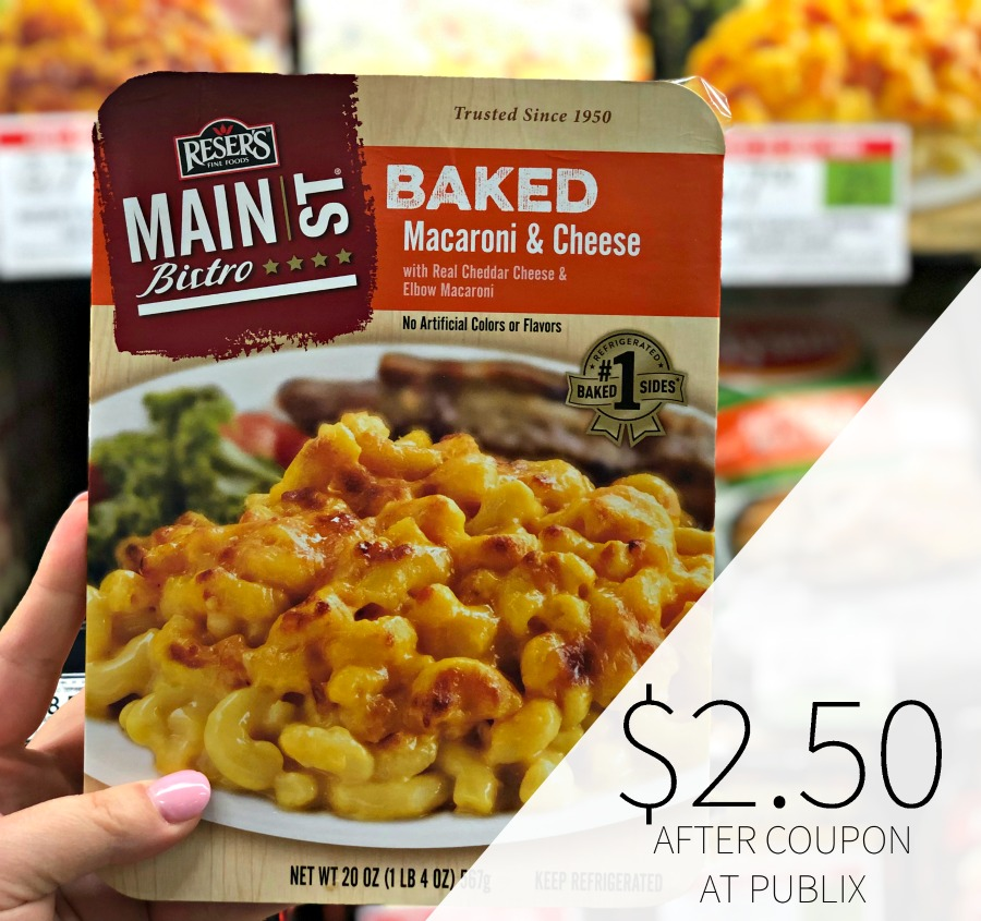 Reser's Main Street Baked Sides Only $2.50 At Publix