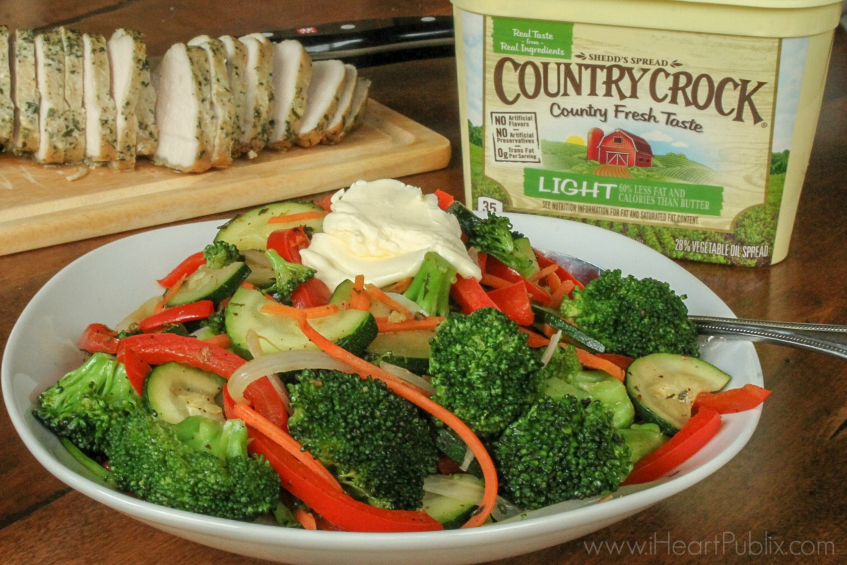 Simply Sautéed Vegetables - Serve Up Great Taste And Save $2 On Country Crock At Publix 2