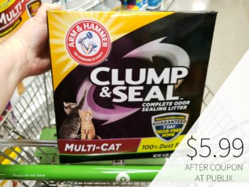 Arm & Hammer Cat Litter Only $5.99 At Publix on I Heart Publix