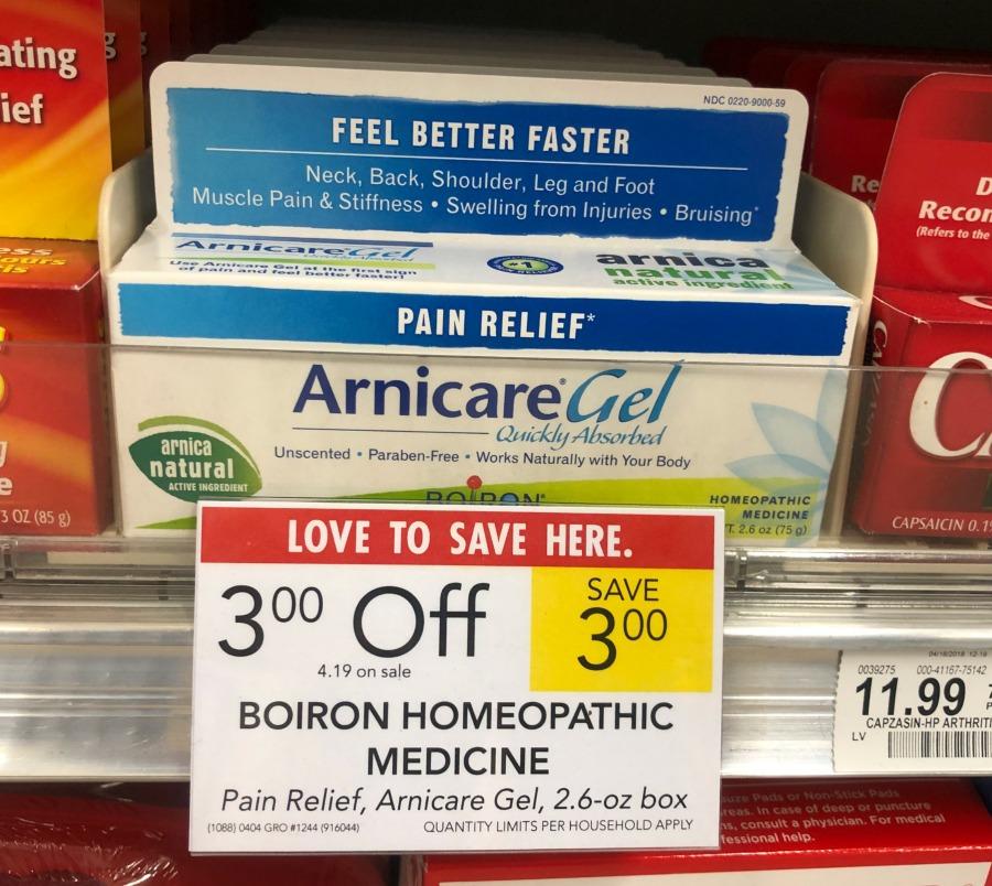 Arnicare gel coupon