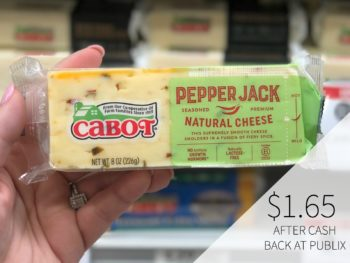 Cabot Cheese Just $1.65 At Publix 2