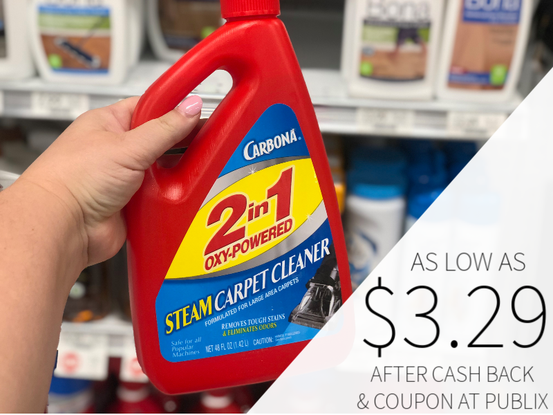 Carbona Steam Carpet Cleaner As Low As $3.29 At Publix 1