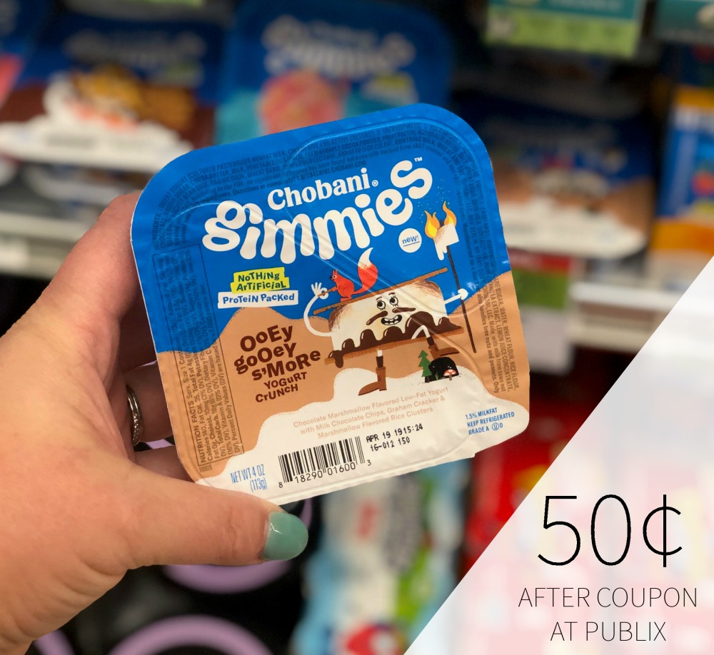 New Chobani Gimmies Checkout 51 For The Publix Sale - Just 50¢