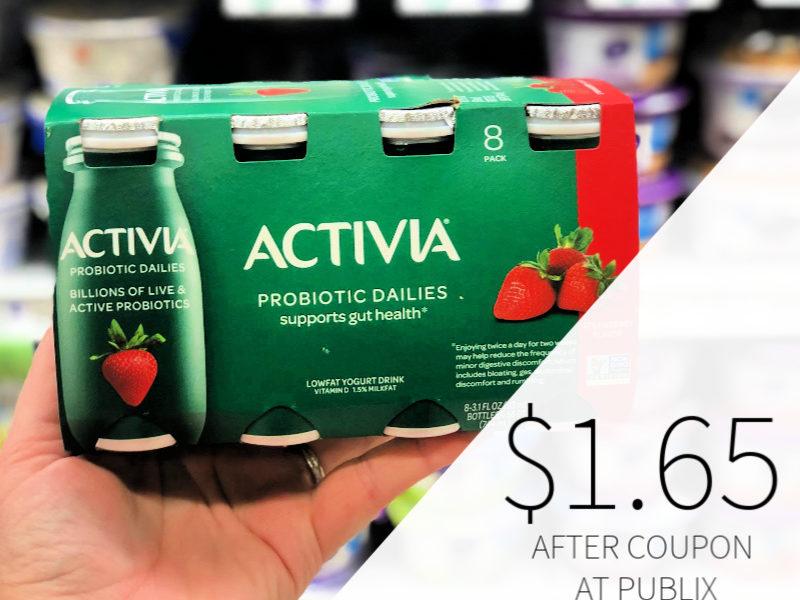 Dannon Activia Probiotic Dailies Only $1.65 At Publix 2