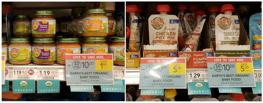 Earth's Best Organic Baby Food As Low As 50¢ At Publix
