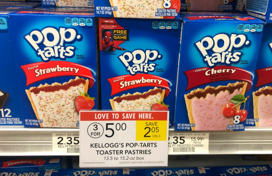 FREE Pop-Tarts Crisps WYB Two Boxes Of Pop-Tarts At Publix 1