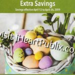 "Publix Grocery Advantage Buy Flyer – ""Extra Savings"" Valid 4/13 to 4/26"