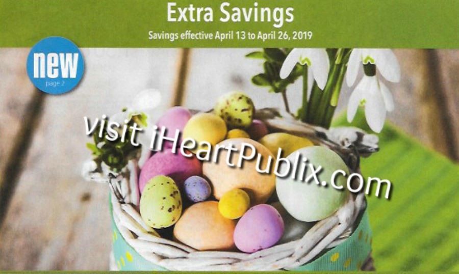 Publix Grocery Advantage Buy Flyer Extra Savings Valid 4 13 To