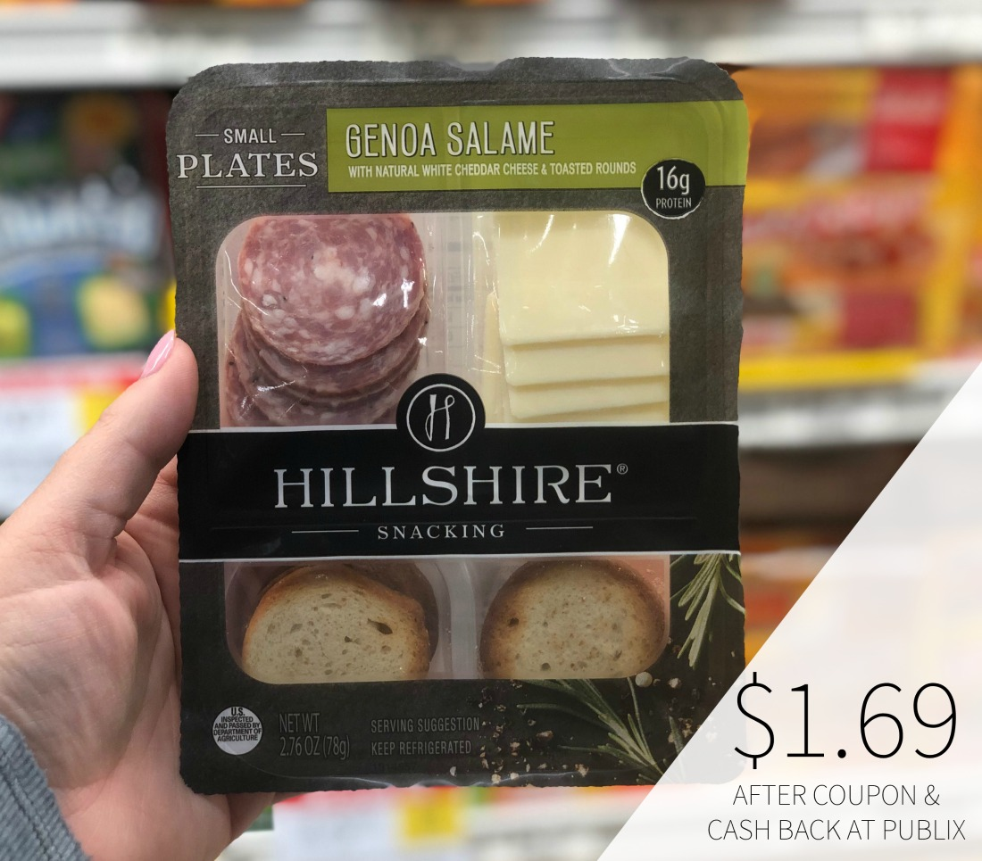 Hillshire Snacking Small Plates Only 1 69 At Publix