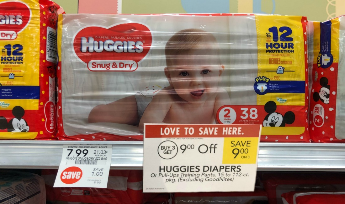 Awesome Deal On Huggies Diapers At Publix
