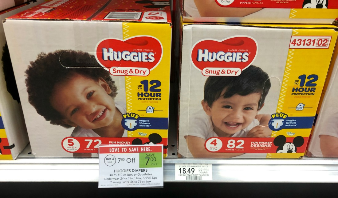 Huggies Boxed Diapers Just $9.99 At Publix