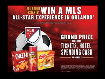Purchase Specially Marked Kellogg's Products For A Chance To Win A MLS All-Star Experience on I Heart Publix 1