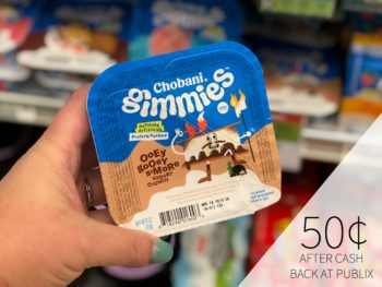 New Chobani Gimmies Checkout 51 For The Publix Sale - Just 50¢ 1