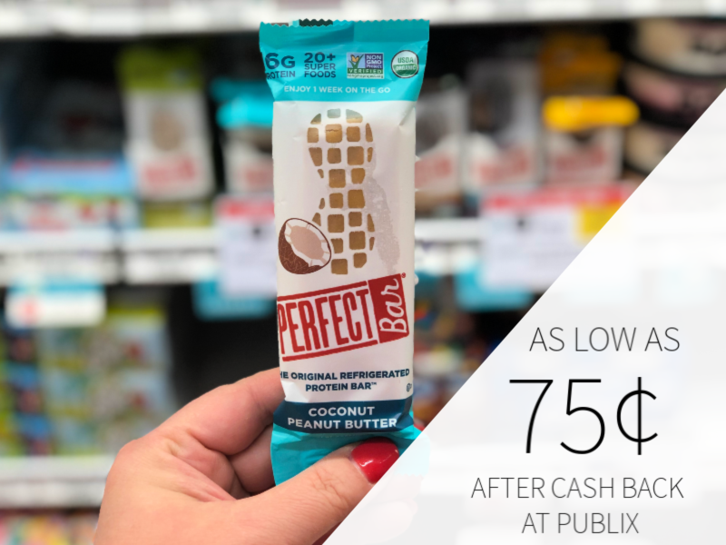 Perfect Bar As Low As 75¢ At Publix 1