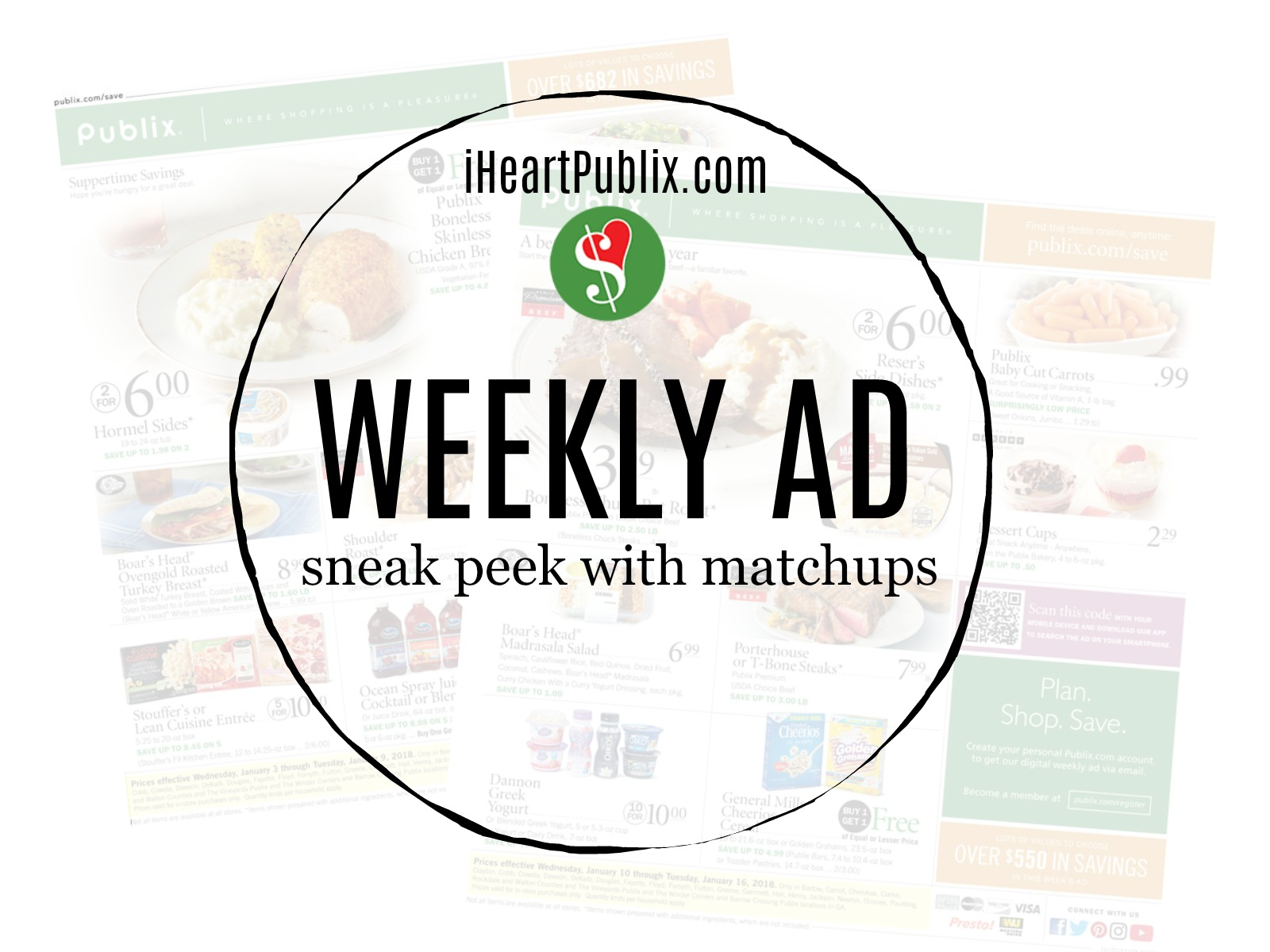 Publix Ad & Coupons Week Of 4/22 - 4/24 (4/22 - 4/23 For Some) - SHORT AD