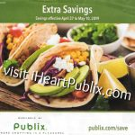 "Publix Grocery Advantage Buy Flyer – ""Extra Savings"" Valid 4/27 to 5/10"