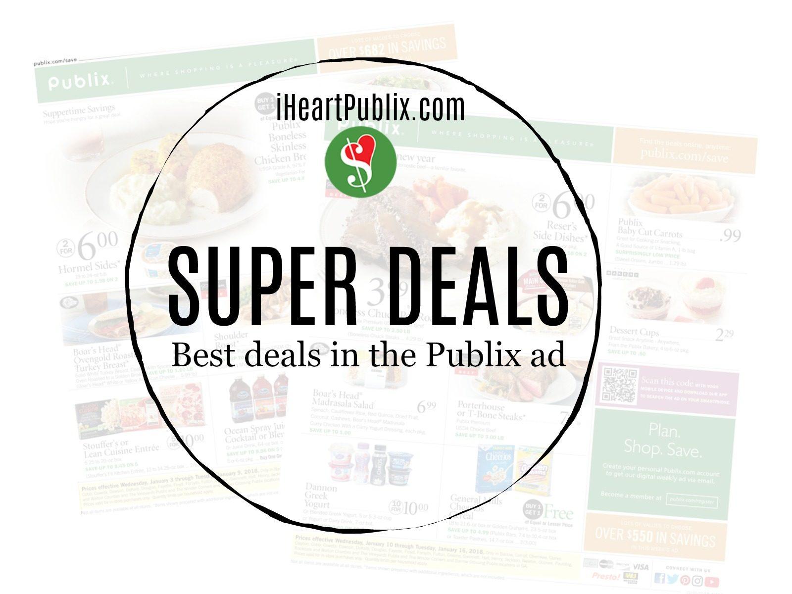 Publix Super Deals Week Of 4/22 - 4/24 (4/22 - 4/23 For Some) - SHORT AD
