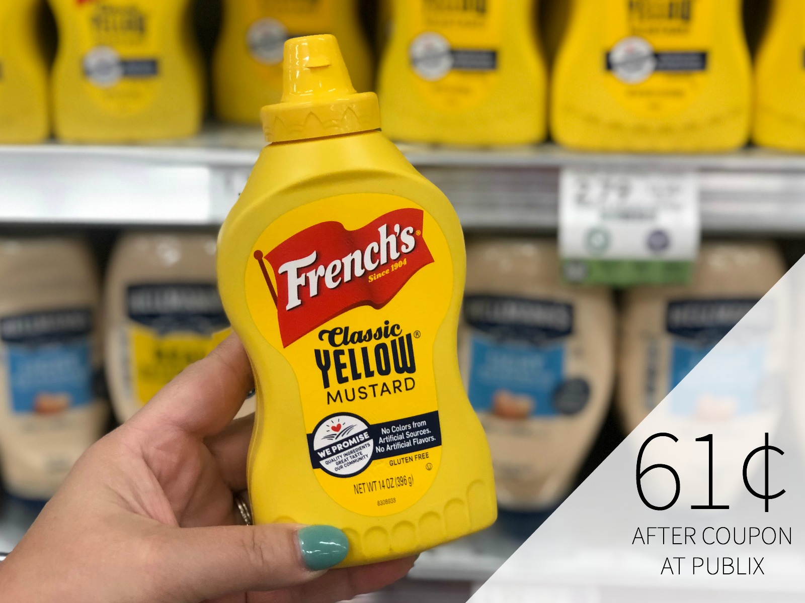 Savings On French's, Frank's and Stubb's Items - Cheap Mustard At Publix