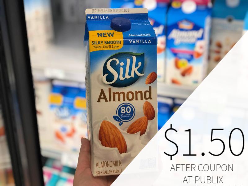 Silk Almondmilk Only $1.50 At Publix