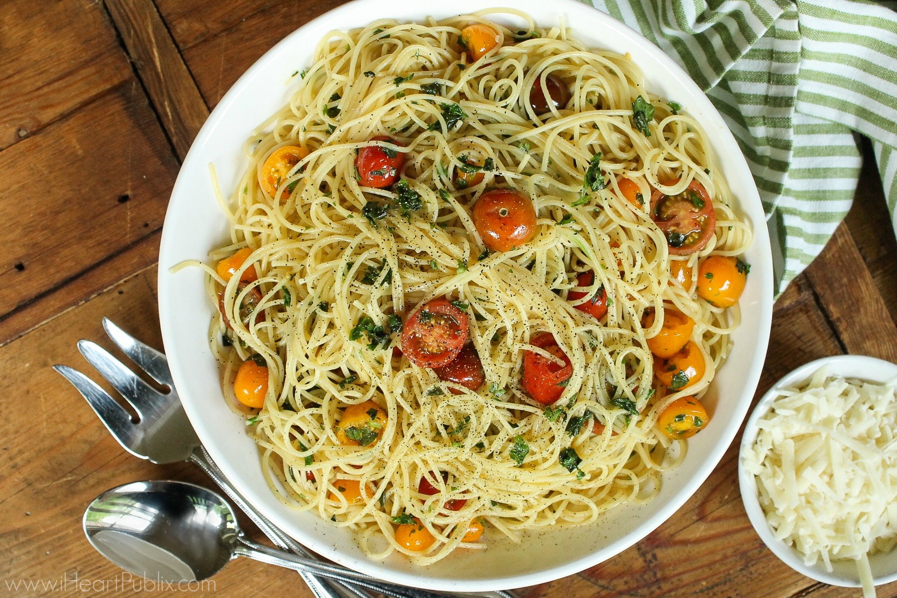 Spaghetti With Tomatoes & Fresh Herb - Tasty Recipe For The  I Can't Believe it's Not Butter! BOGO Sale 1