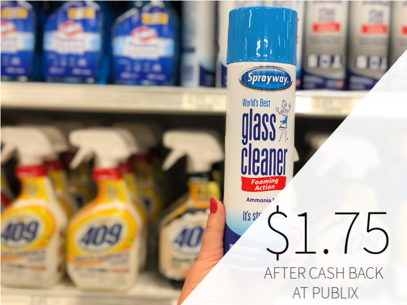 Sprayway Glass Cleaner Only $1.75 At Publix