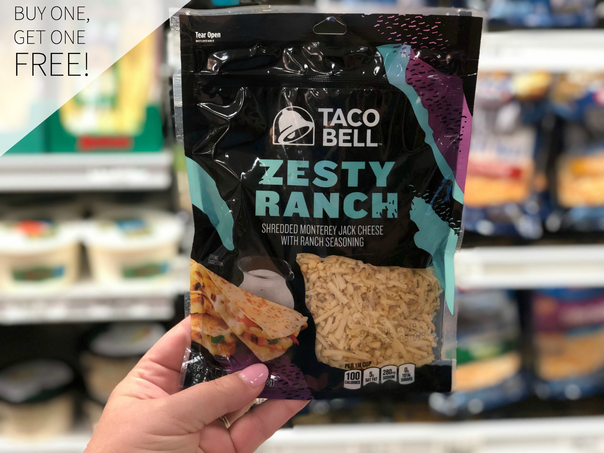 Taco bell cheese Publix Coupon