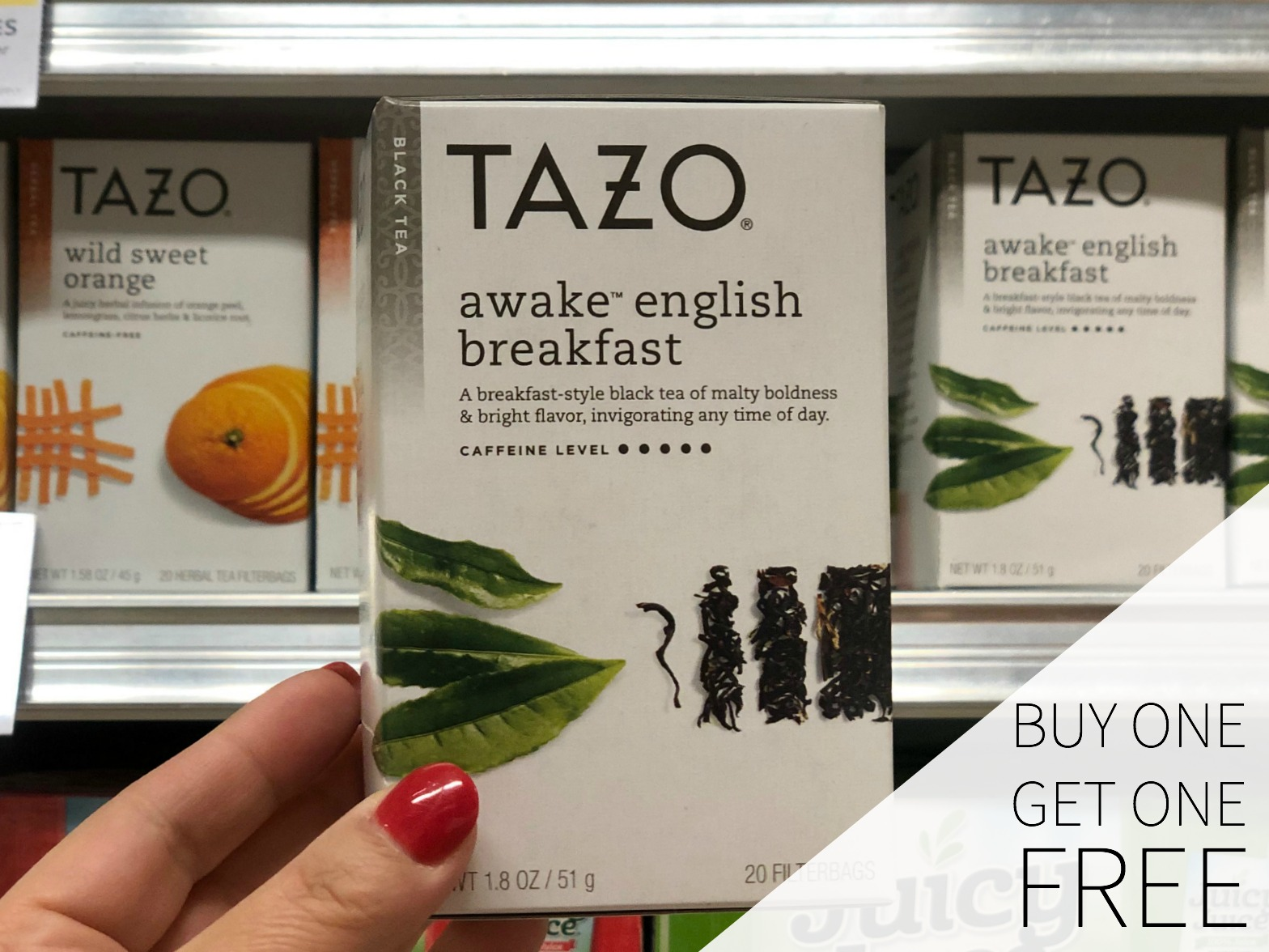 Try My TAZO Sparkling Passion Tea Limeade on I Heart Publix