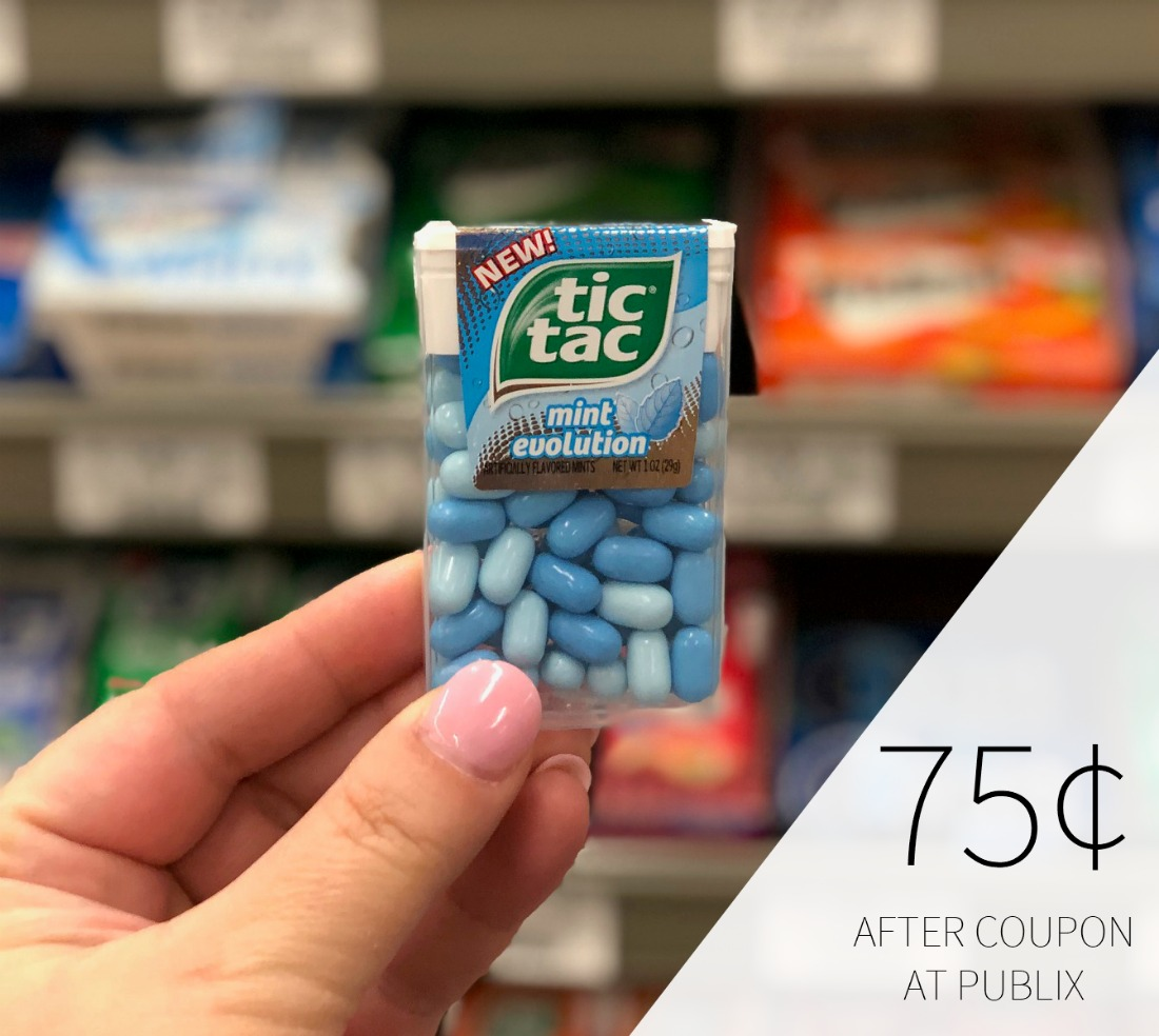 Tic Tac Mints or Gum Just 75¢ At Publix 1