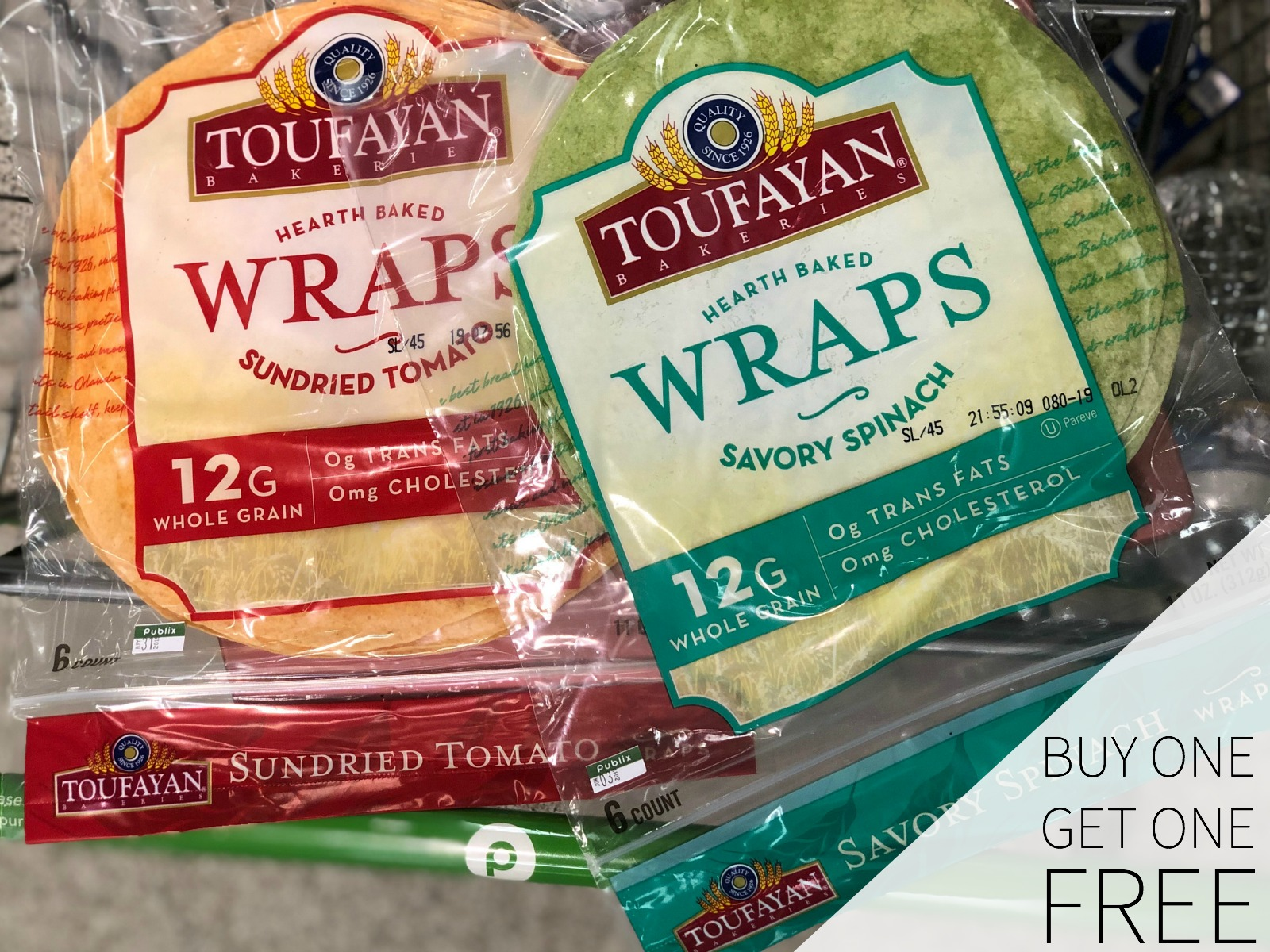 Stock Up On Toufayan Wraps At Publix - Buy One, Get One FREE! on I Heart Publix