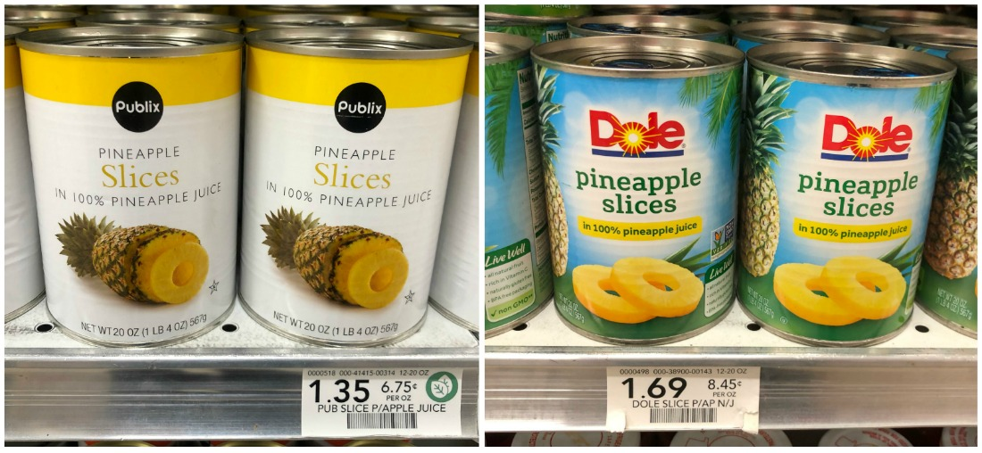 Try Me Tuesday - Publix Pineapple