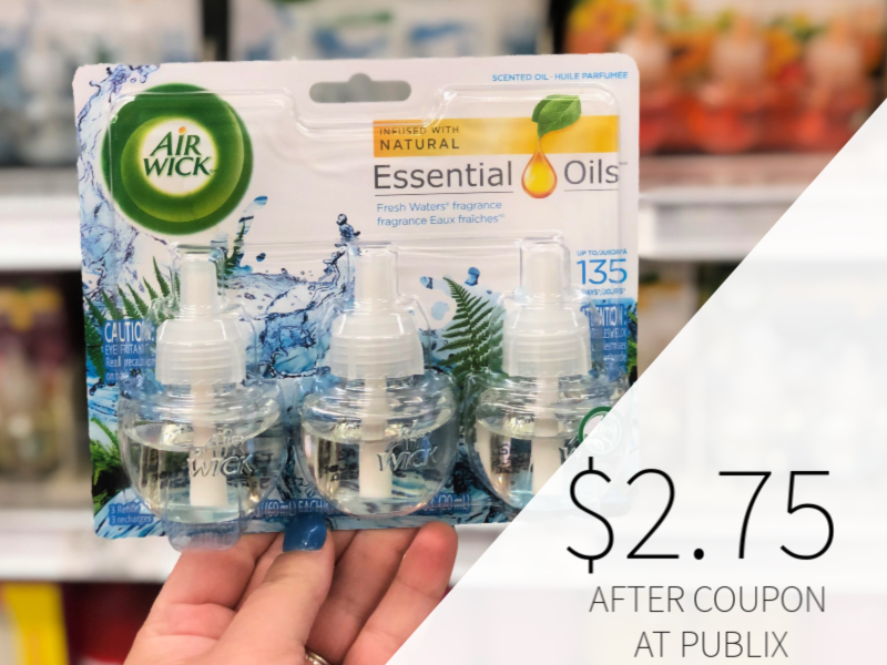Air Wick Scented Oil Refill Only $2.75 At Publix on I Heart Publix 1