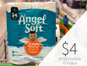 Angel Soft Bathroom Tissue Just $4 At Publix on I Heart Publix