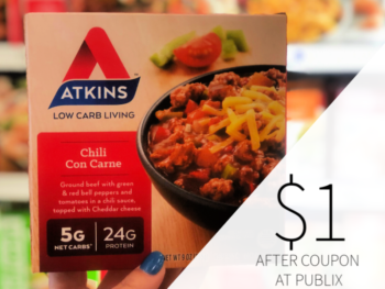photo regarding Atkins Coupon Printable identified as atkins coupon, I Center Publix