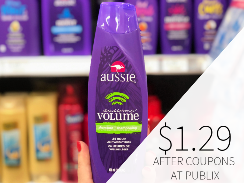Aussie Products Only $1.29 At Publix on I Heart Publix
