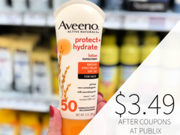 Aveeno Sunscreen Only $3.49 At Publix on I Heart Publix 1
