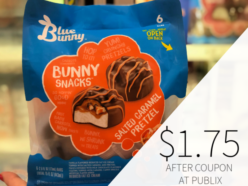 Blue Bunny Bunny Snacks Only $1.75 At Publix on I Heart Publix