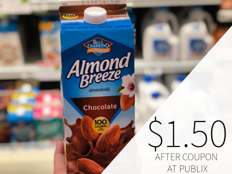 Almond Breeze Almondmilk Only $ on I Heart Publix