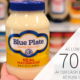 Blue Plate Mayonnaise As Low As 70¢ At Publix on I Heart Publix 1