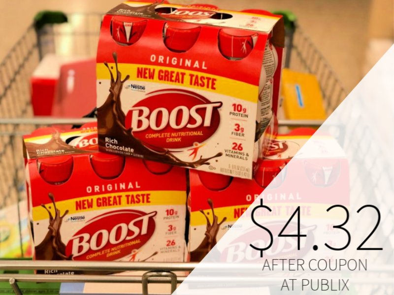 Boost Nutritional Drinks Only $4.32 At Publix on I Heart Publix 1