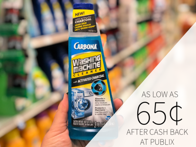 Carbona Washing Machine Cleaner As Low As 65¢ At Publix on I Heart Publix 1
