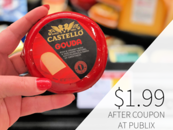 Castello Domestic Gouda Cheese Only $1.99 At Publix on I Heart Publix