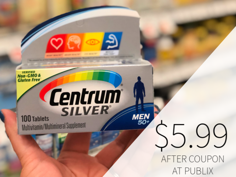 photograph about Centrum Coupon Printable identified as Fresh Centrum Coupon For The Publix Sale - Vitamins and minerals As Reduced As