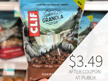 Clif Energy Granola Only $3.49 At Publix on I Heart Publix 1
