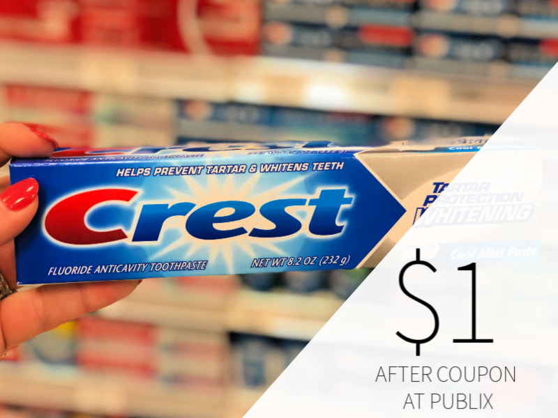 Crest Toothpaste Only $1 At Publix on I Heart Publix 5