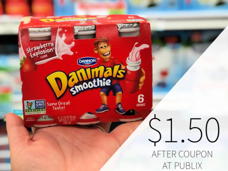 Dannon Danimals Smoothie Only $1.50 At Publix on I Heart Publix 1