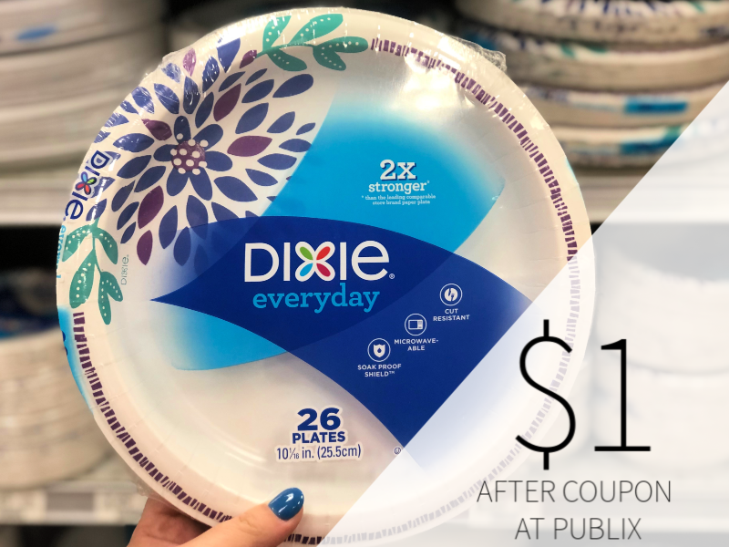 Dixie Plates Only $ on I Heart Publix