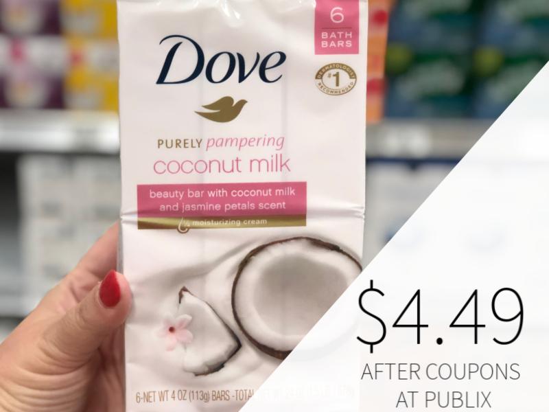 Dove Bar Soap Only $4.49 At Publix on I Heart Publix
